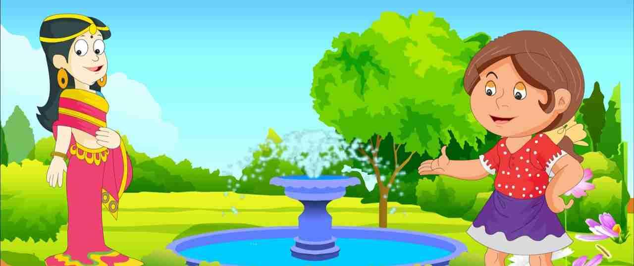 गोल गोल पानी