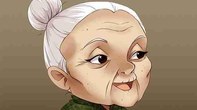 दादजी के बाल सफ़ेद