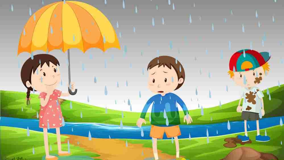पानी बरसा छम छम छम