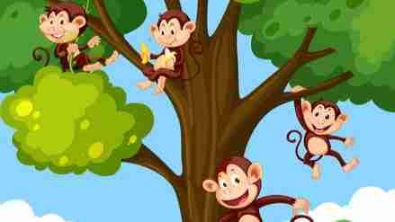 વડલા ડાળે વાંદરા ટોળી
