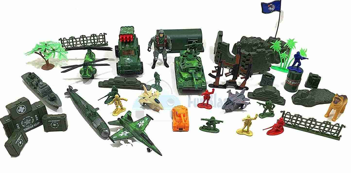 Battlefield Military Play Set