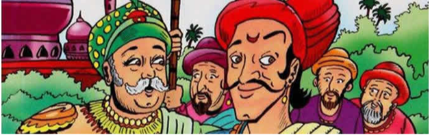 Birbal and the Dishonest Officer