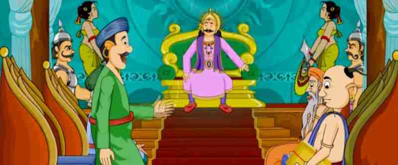 Birbal helps an astrologer