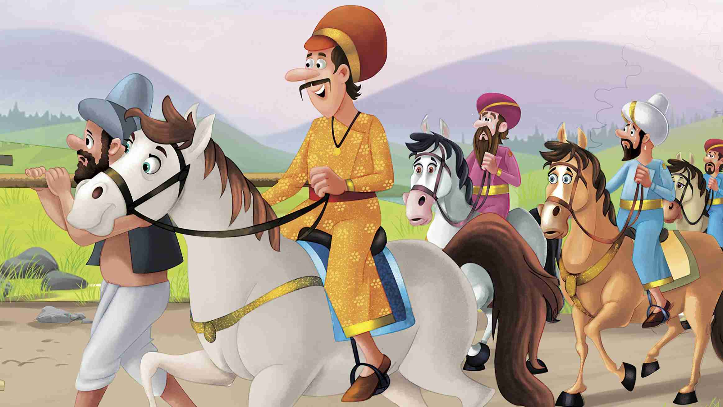 Birbal shortens the journey