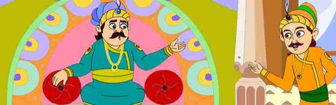 Birbal solves the problem