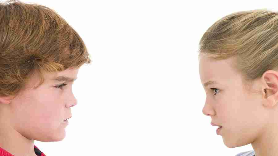 Child does not make opposite gender friends