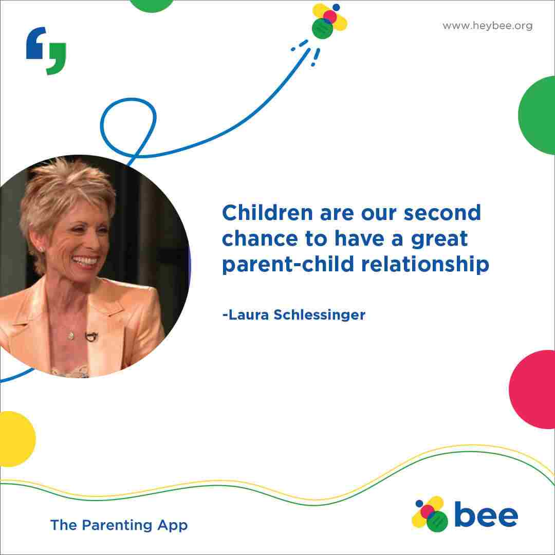 Children are our second chance to have a great parent child relationship