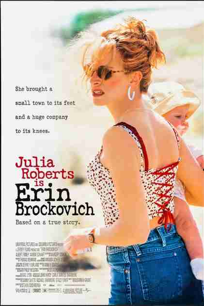 Erin Brockovich Movie  - Morals for Children and Single moms