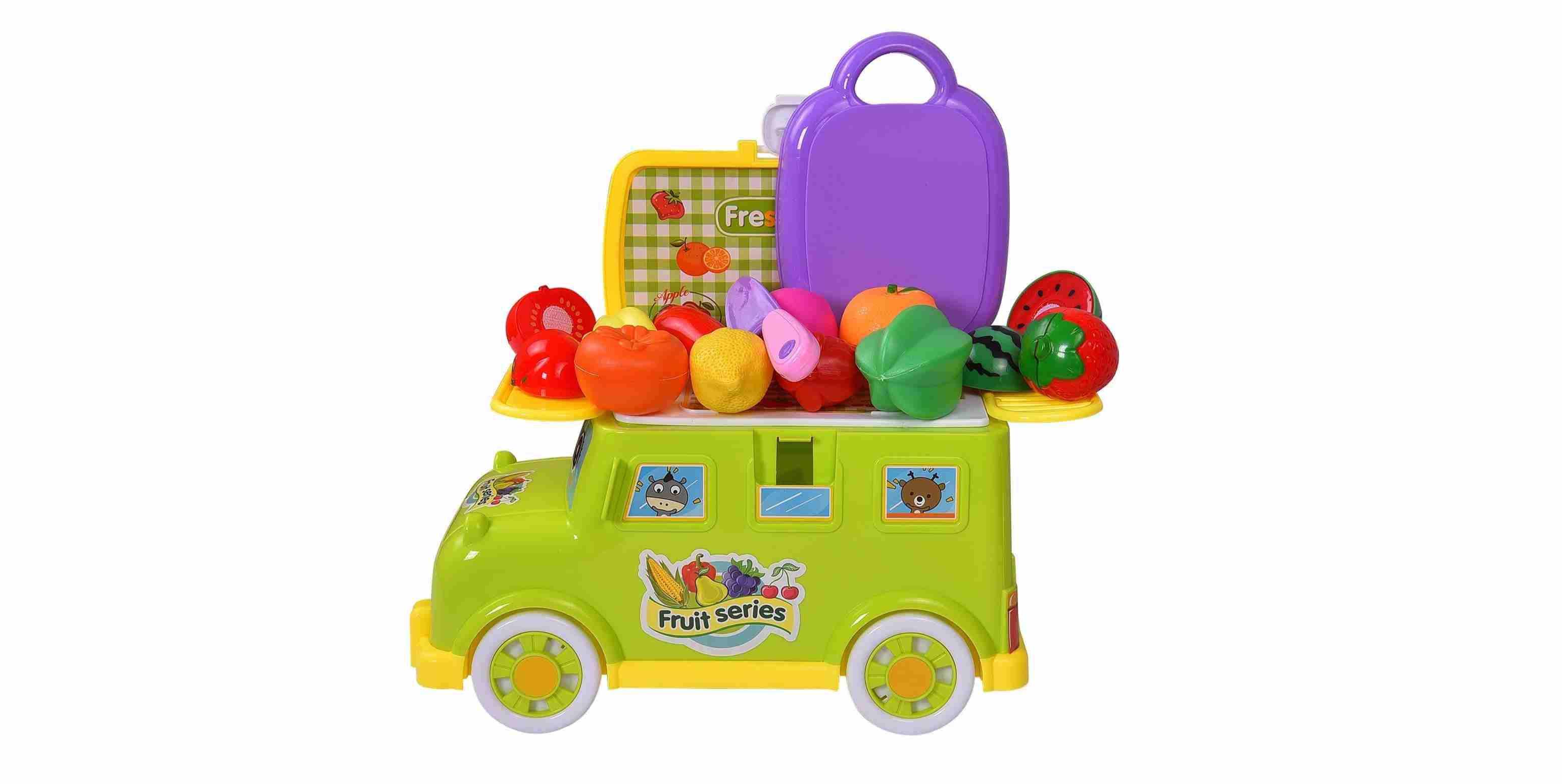 Fruit Truck On Wheels