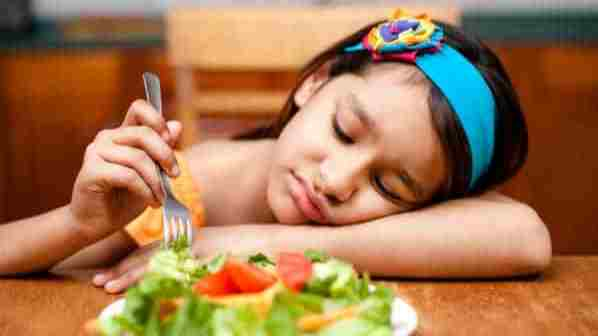 Fussy eaters and giving food to them
