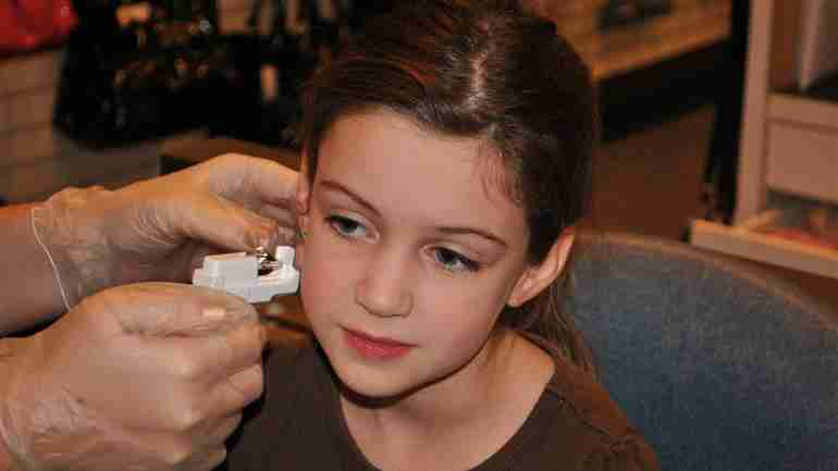 Getting your child's ears' pierced