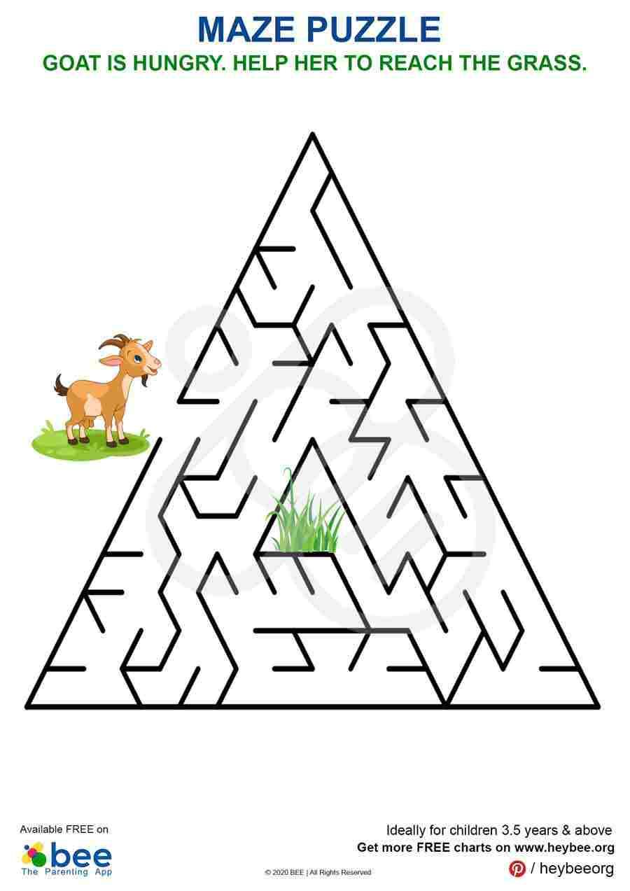 Goat Puzzle Maze