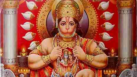 Hanuman and the pearl necklace