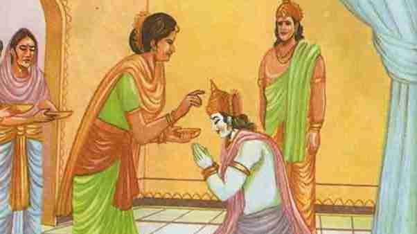 Kaikeyi's demand to banish Ram