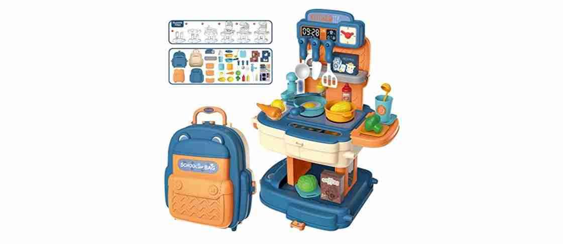 Kitchen Set School Bag (Blue)