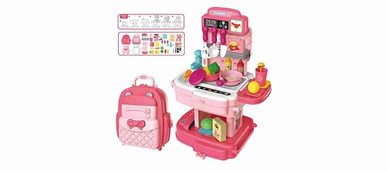 Kitchen Set School Bag (Pink)