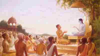 Krishna's concern for the Devotees