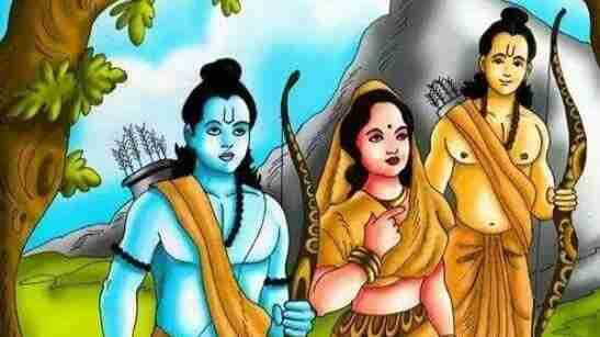 Lakshman never saw the face of Sita