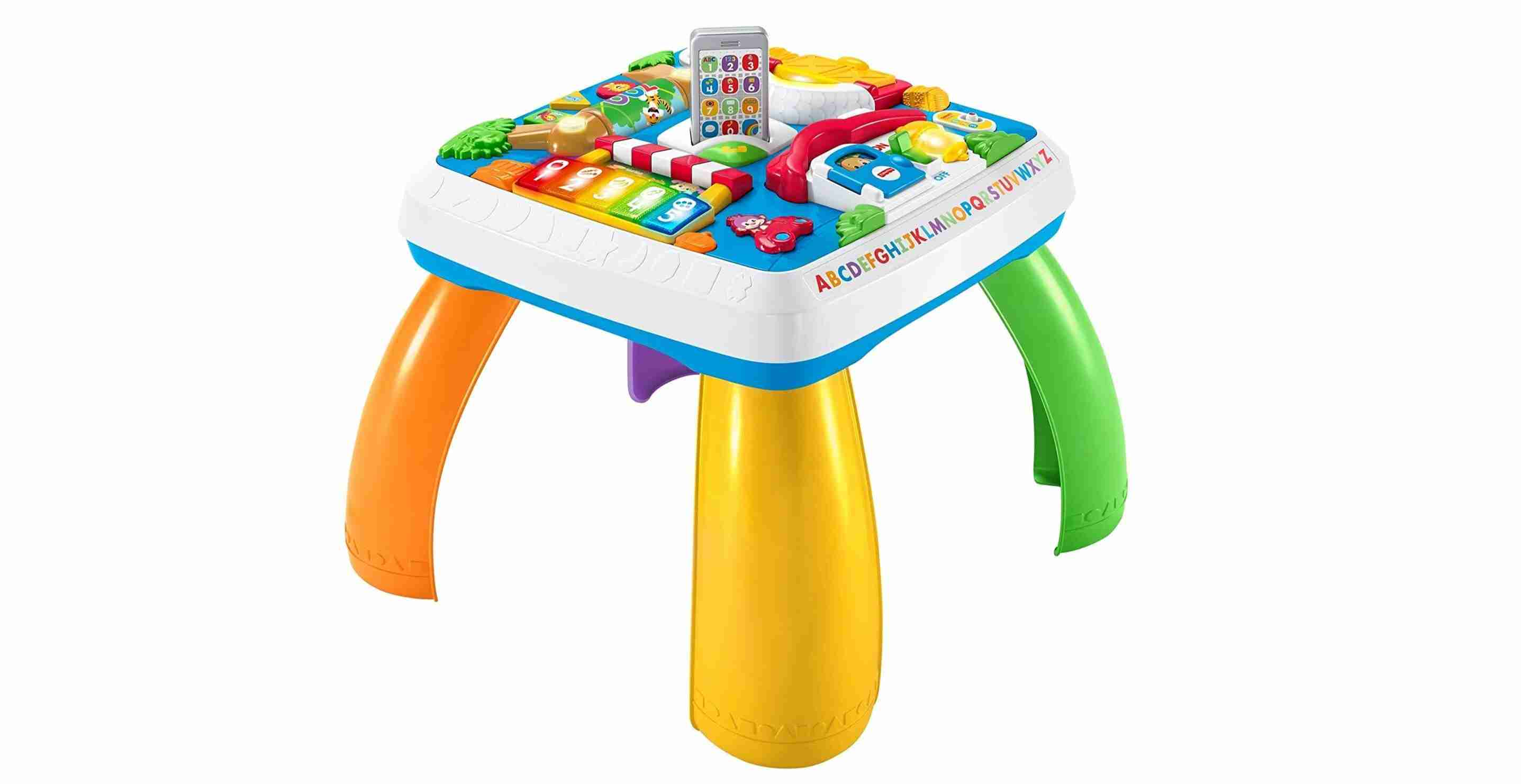 Laugh & Learn Activity Table