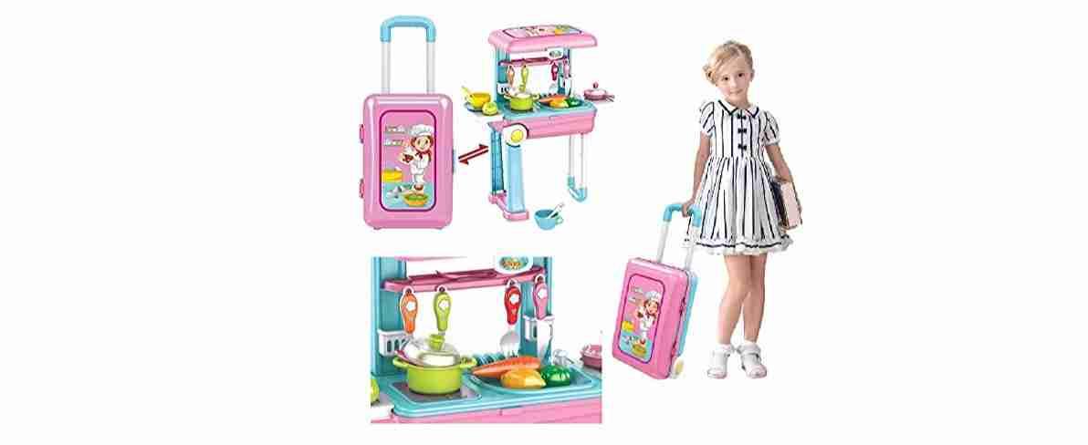 Luxury Kitchen Set (Pink)
