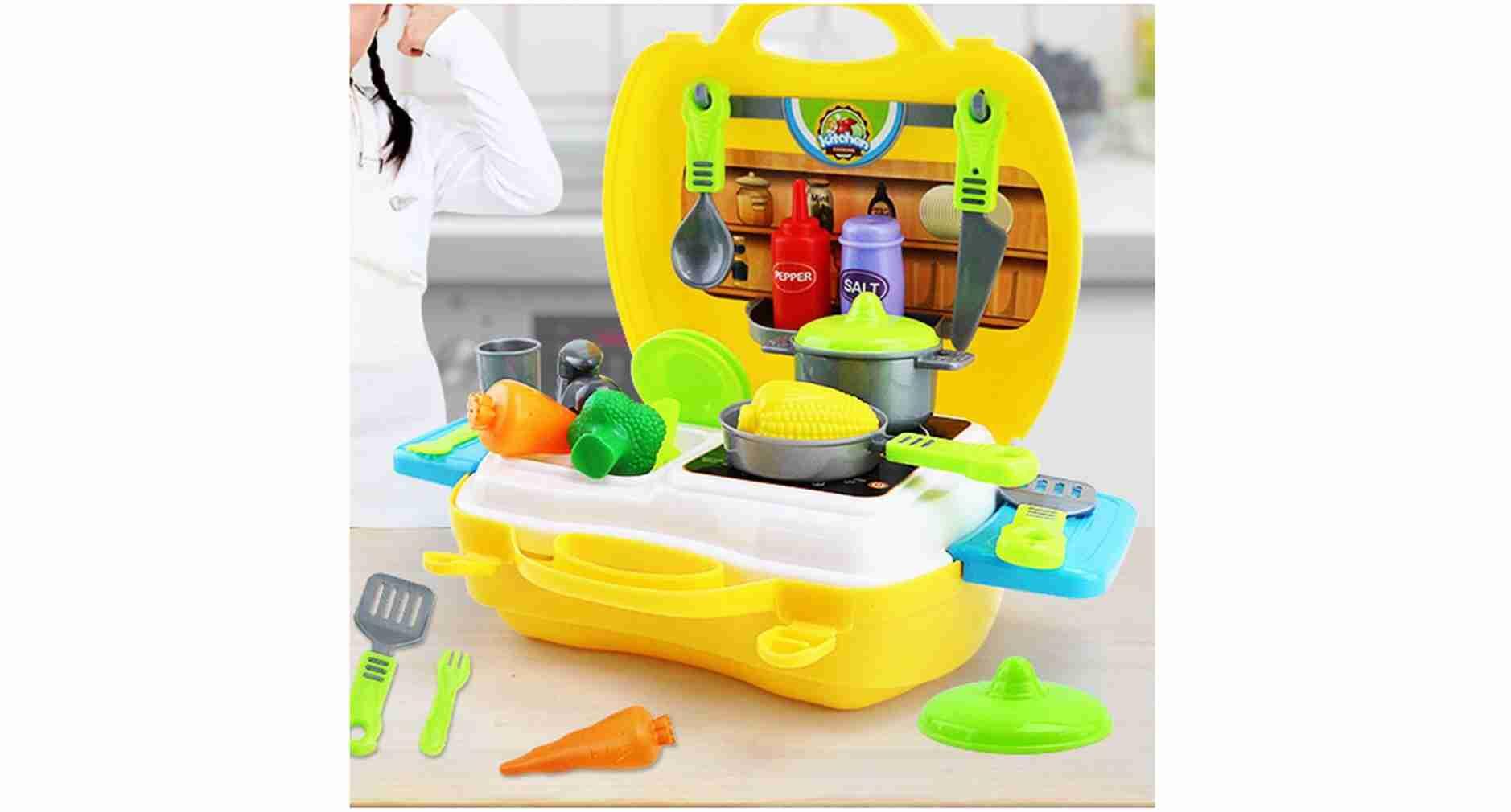Luxury Kitchen Set (Yellow)