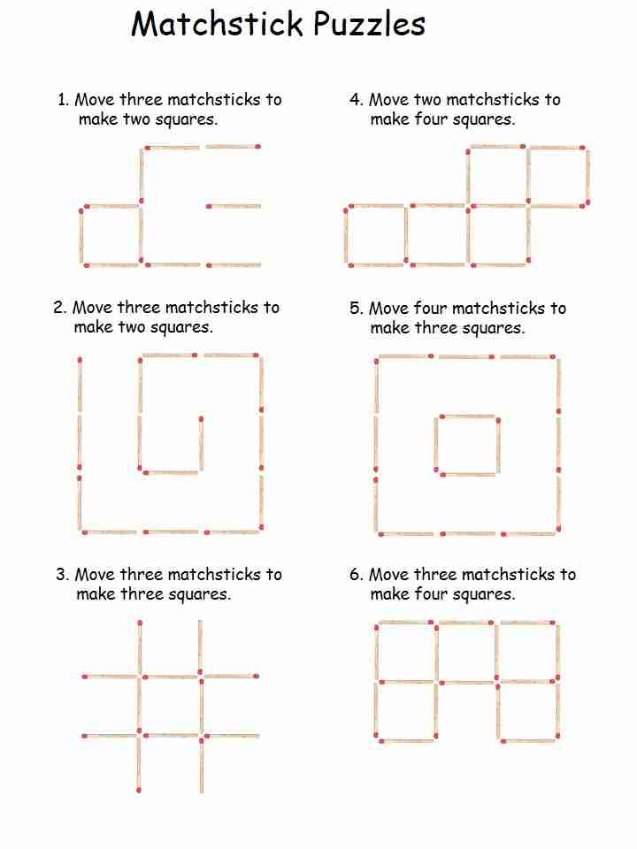 Matchstick Puzzle 1