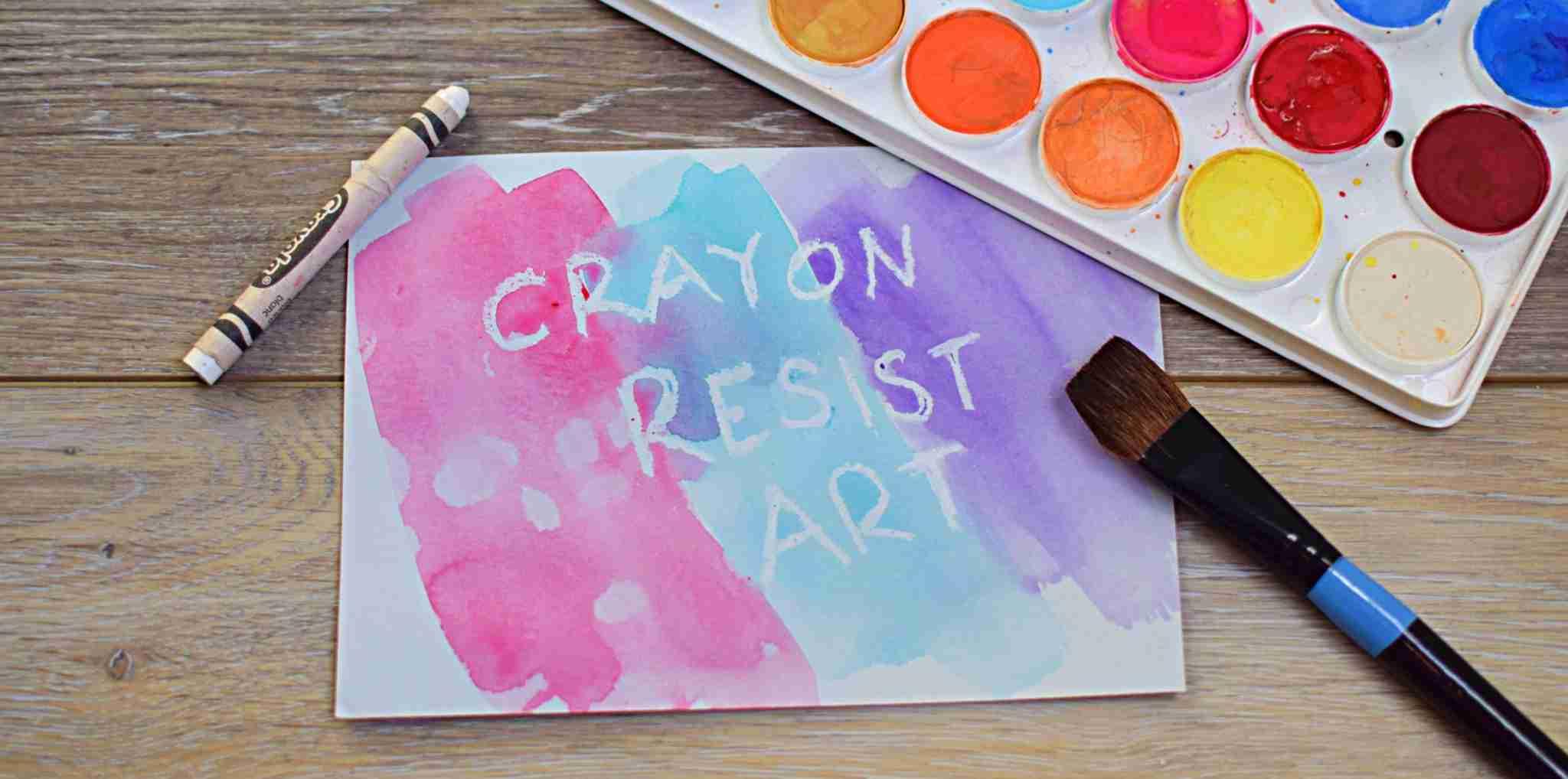 Resist Painting