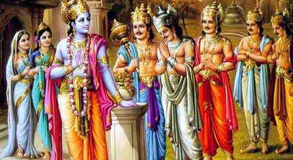 Sage Romarishi, The Pandavas and Bhagavan Sri Krishna