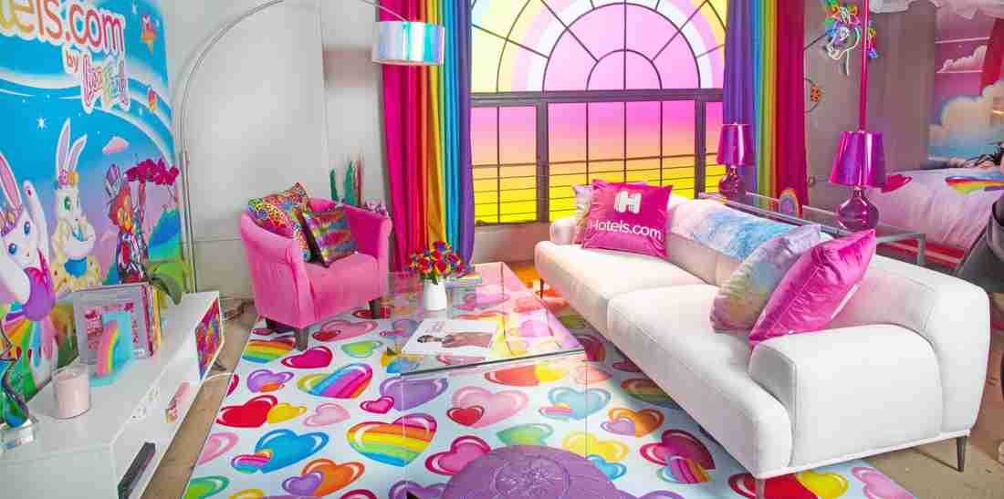 Spot colour in the room