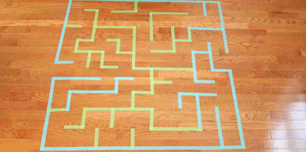 Tape Maze