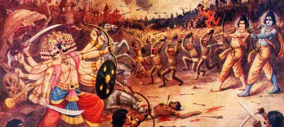 The Story Of Rama's Victory