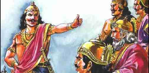 The Story of Hatred between Pandavas and Kauravas