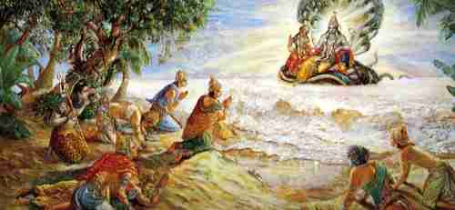 The Story of Rama's Death