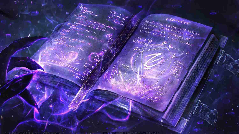 The book of magic spells