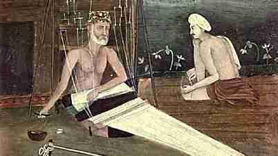 The devata and the weaver