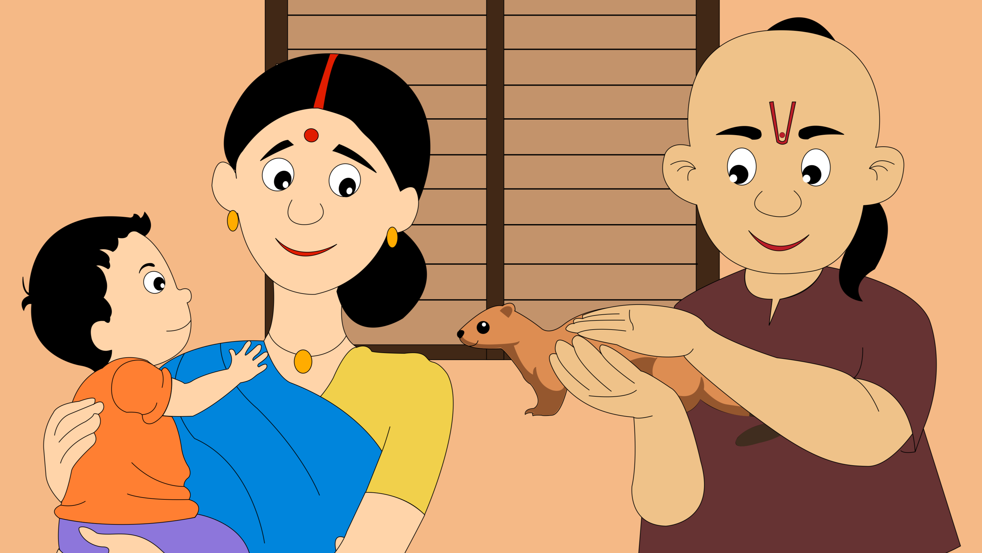 The mongoose and the brahmin's wife