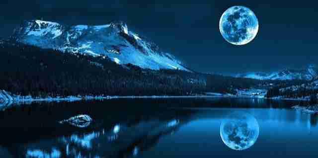 The moon lake