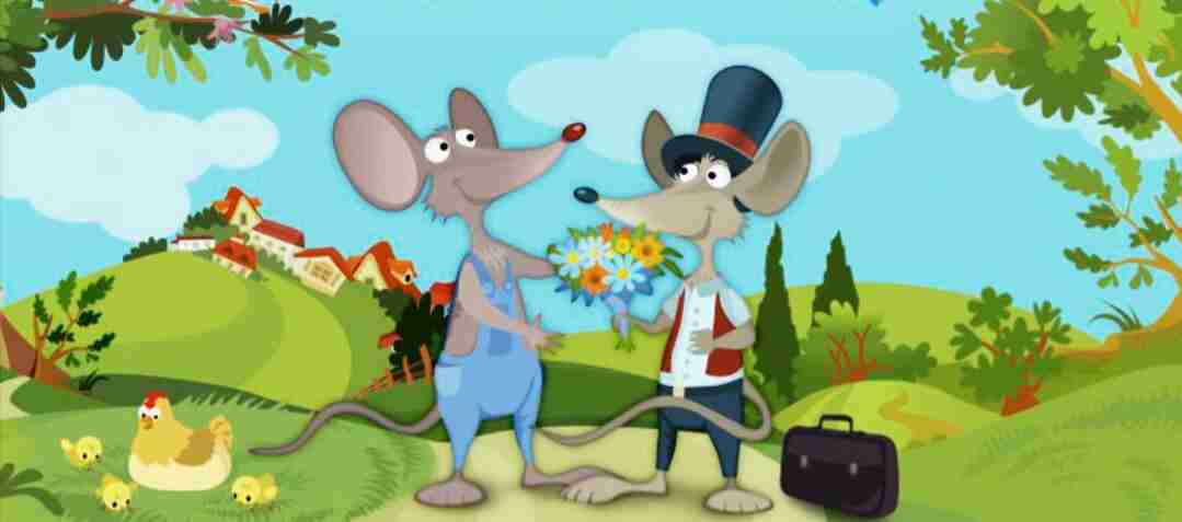 Village mouse and the city mouse