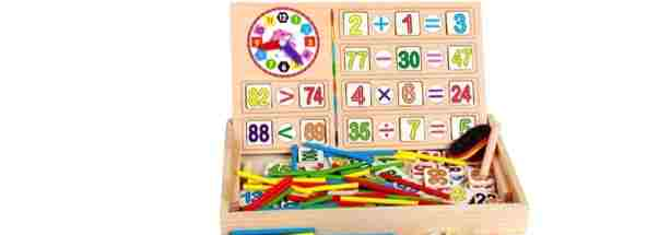 Wooden Mathematics Education toy