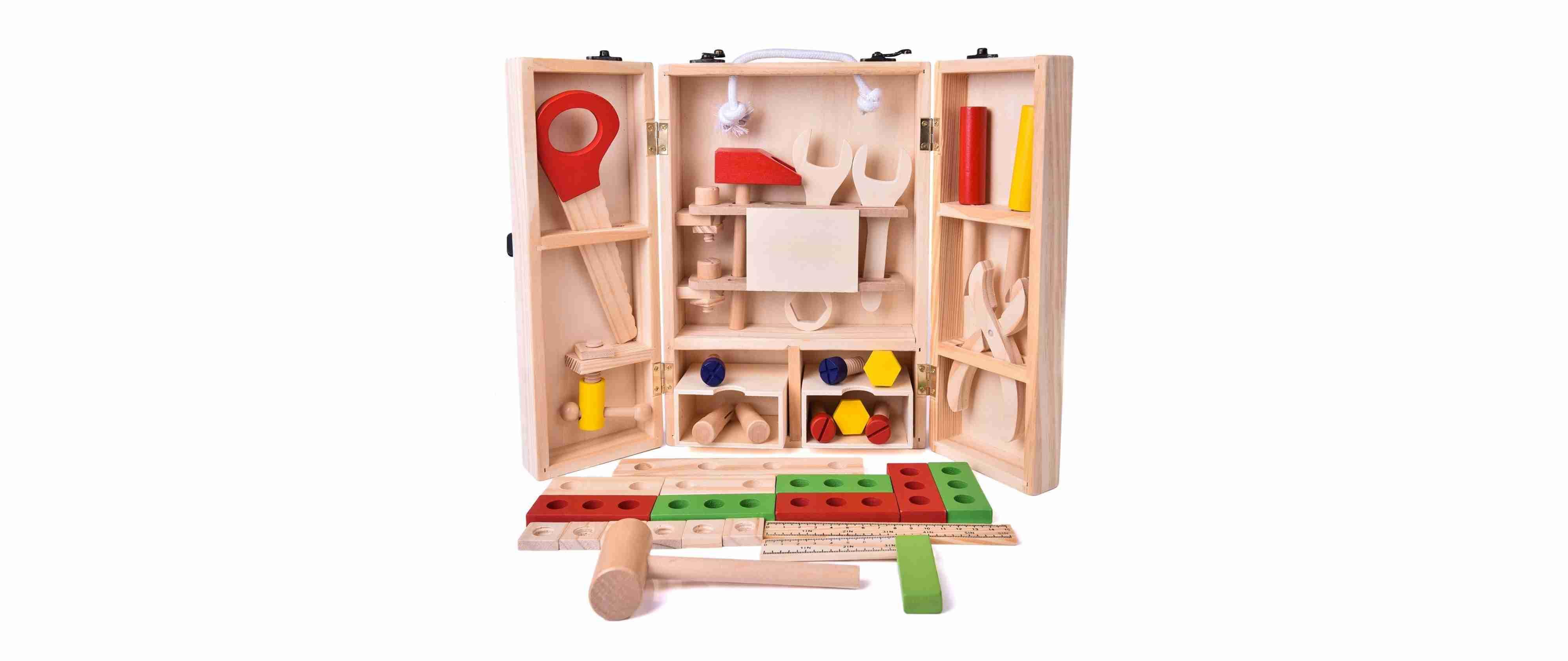 Wooden Workshop Tool Set