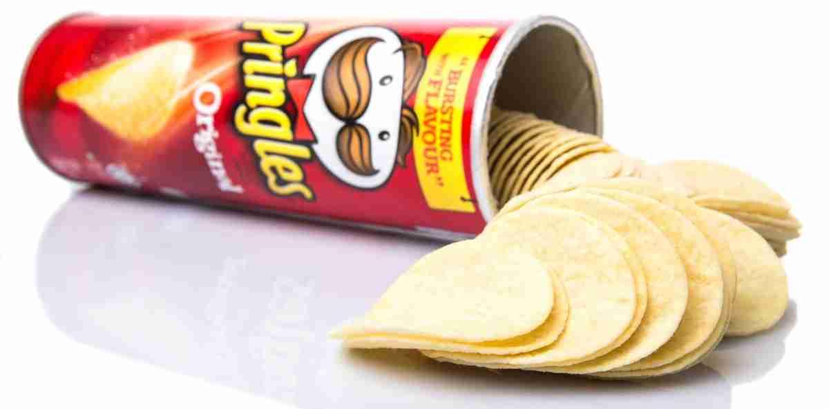 Pringles aren't actually potato chips.