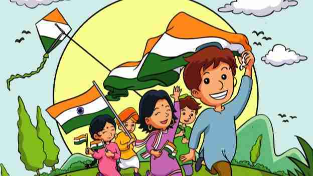 Indian Independence Day with kids