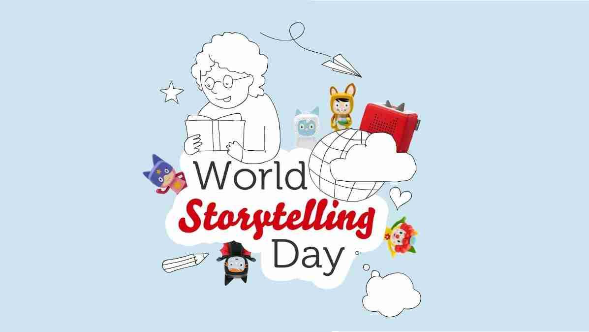 World Storytelling Day Worksheet For Kids
