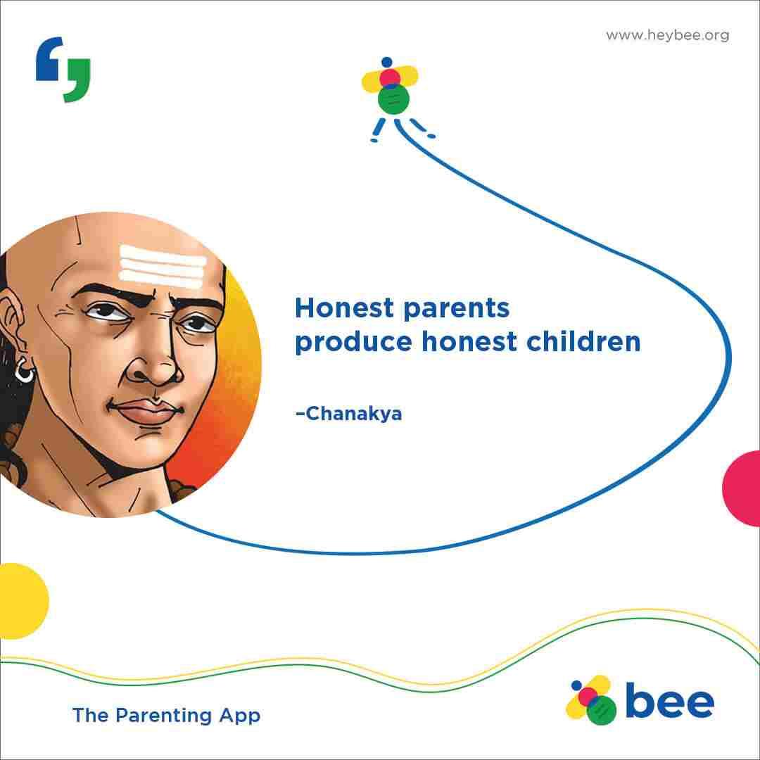 Honest parents produce honest children