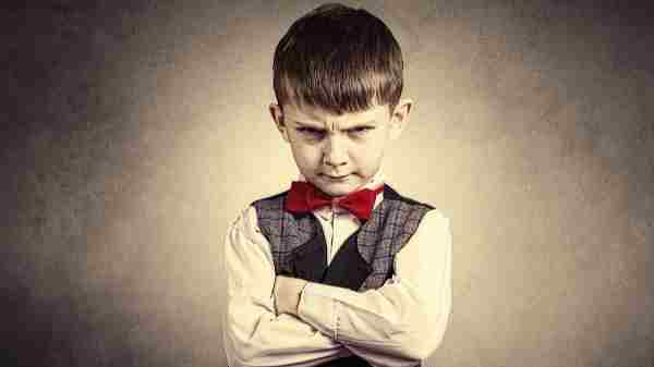 Dealing with a stubborn child