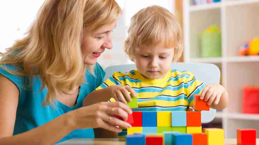 Introducing colours to your child