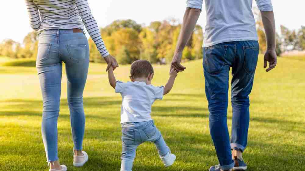 Raising a single child
