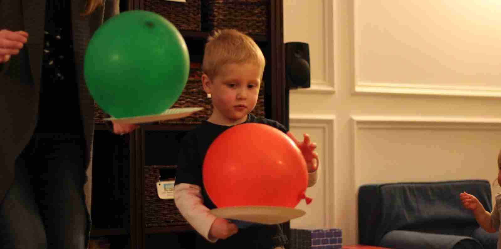 Balloon on Palm