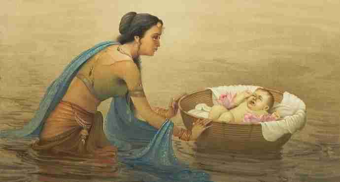 Karna's Birth