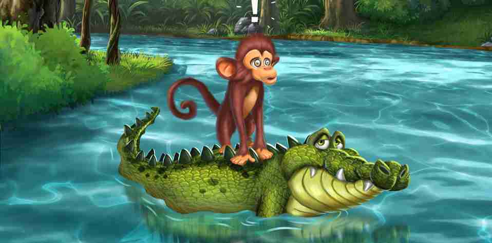 The Monkey and the Crocodile